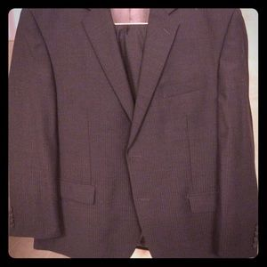 Men's Calvin Klein suit with pants